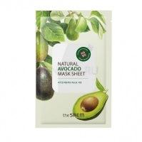 Natural avocado mask sheet [Маска тканевая с экстрактом авокадо]