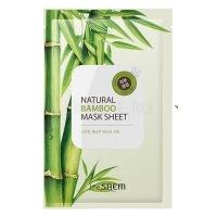 Natural bamboo mask sheet [Маска тканевая с экстрактом бамбука]