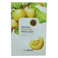 Natural gold kiwi mask sheet [Маска тканевая с экстрактом киви]