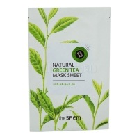 Natural green tea mask sheet [Маска тканевая с экстрактом зеленого чая]