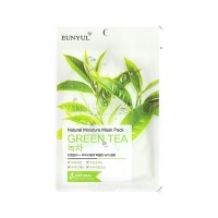 Natural moisture mask pack green tea [Маска для лица с экстрактом зеленого чая]