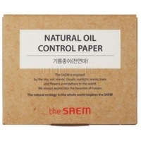 Natural oil control paper [Матирующие салфетки]