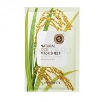 Natural rice mask sheet [Маска тканевая с экстрактом риса]