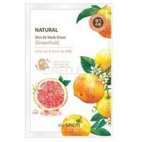 Natural skin fit mask sheet grapefruit [Маска тканевая грейпфрут]