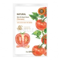 Natural skin fit mask sheet tomato [Маска тканевая томат]