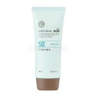 Natural sun eco no shine hydrating sun cream spf50/pa+++ 100ml [Матирующий солнцезащитный крем]