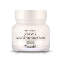 Naturalth goat milk aqua whitening cream [Крем осветляющий на основе козьего молока]
