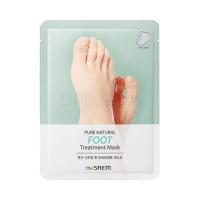 Pure natural foot treatment mask [Маска для ног]