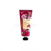 Pink flower blooming hand cream pink rose [Крем для рук]