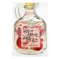 Pomegranate juicy mask sheet(lifting & bright ) [Маска тканевая фруктовая]