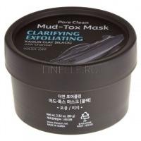Pore clean mud-tox mask (black) [Маска для лица с каолиновой глиной]