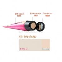 Pungseon tina bb concealer cream #21 bright beige [ Консилер-крем]