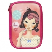 Pungseon tina pu beauty pouch [Косметичка]