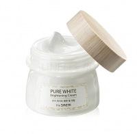 Pure white brightening cream [Крем осветляющий с эффектом сияния]