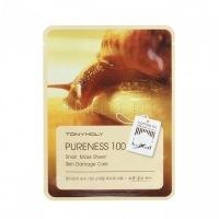 Pureness 100 snail mask sheet [Маска с улиточным муцином]