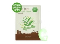 Real jeju skingel mask 03. greentee (moisture) [Маска для лица Зеленый Чай]