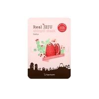 Real jeju skingel mask 01. cactus 5p(firming) [Маска для лица Кактус]