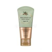 Real moist 24 hand cream (argan oil) [Крем для рук]