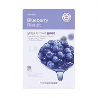 Real nature mask sheet blueberry [Маска для лица тканевая]