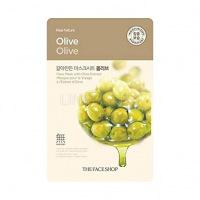 Real nature mask sheet olive [Маска для лица тканевая]