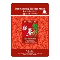 Red ginseng essence mask [Маска тканевая красный женьшень]