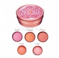 Rose essence blusher #4 peach [Румяна компактные]