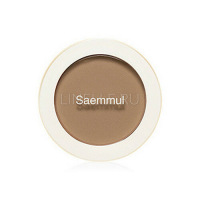 Saemmul Single Blusher BR03 Cloudy Brown [Румяна]