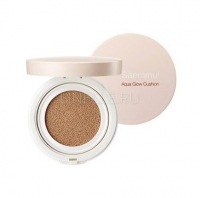 Saemmul aqua glow cushion 02 natural beige [Основа-крем сияющая]