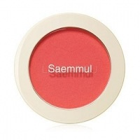 Saemmul single blusher pk01 bubblegum pink [Румяна]