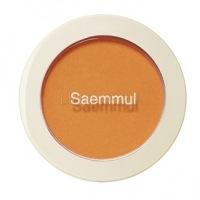 Saemmul single blusher or02 selfie orange [Румяна]