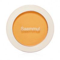 Saemmul single blusher ye01 honey yellow [Румяна]
