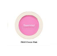 Saemmul single blusher pk03 freeze pink [ Румяна]