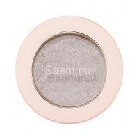 Saemmul single shadow(glitter) wh02 [Тени для век с глиттером]