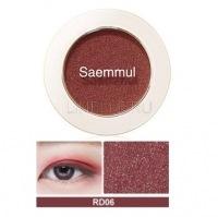 Saemmul single shadow(shimmer) rd06 [Тени для век мерцающие]