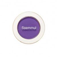 Saemmul single shadow(matte) pp04 blueberry macaron [ Тени для век матовые ]