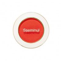 Saemmul single shadow(matte) rd07 the first red [Тени для век матовые]