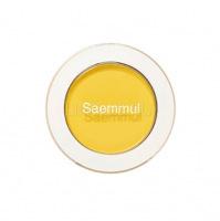 Saemmul single shadow(matte) ye03 lemon candy yellow [ Тени для век матовые]