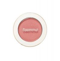 Saemmul single shadow (shimmer) cr04 splash coral [Тени для век мерцающие]