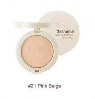 Sammul perfume bb pact spf25 pa++ 21 pink beige [Пудра компактная ароматизированная]