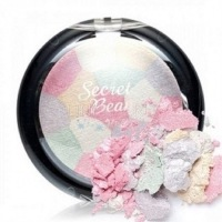 Secret beam highlighter pink & white mix [Хайлайтер]