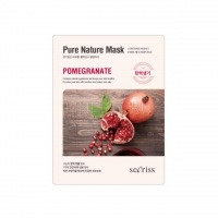 Secriss pure nature mask pack-pomegranate [Маска для лица тканевая]