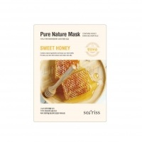 Secriss pure nature mask pack-sweet honey [Маска для лица тканевая ]