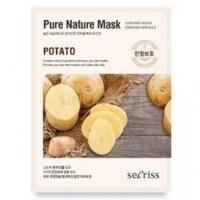 Secriss pure nature mask pack-potato [Маска для лица тканевая]