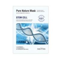 Secriss pure nature mask pack- stem cell  [Маска для лица тканевая ]