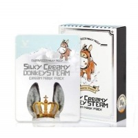 Silky creamy donkey steam cream mask pack [Маска тканевая с паровым кремом]