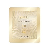 Snail essential 24k gold gel mask sheet [Маска для лица улиточная гелевая]