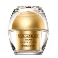 Snail gold 24k cream [Крем для лица с 24к золотом и экстрактом улитки]