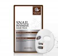 Snail intensive mask pack 1p(sheet) [Маска для лица тканевая с муцином улитки ]