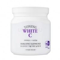 Toning white c double effect sleeping pack [Маска для лица ночная осветляющая]