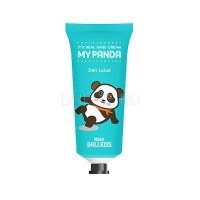 Urban dollkiss it's real my panda hand cream #04 deli lotus [Крем для рук]
